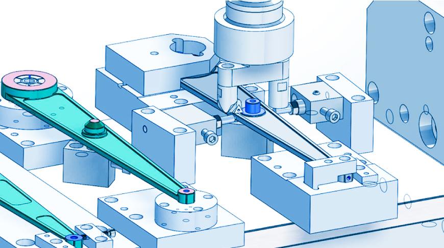 2D/3D CADを使い精度を追求した加工治具の自社設計